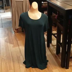 🇨🇦 Green Nylon Dress